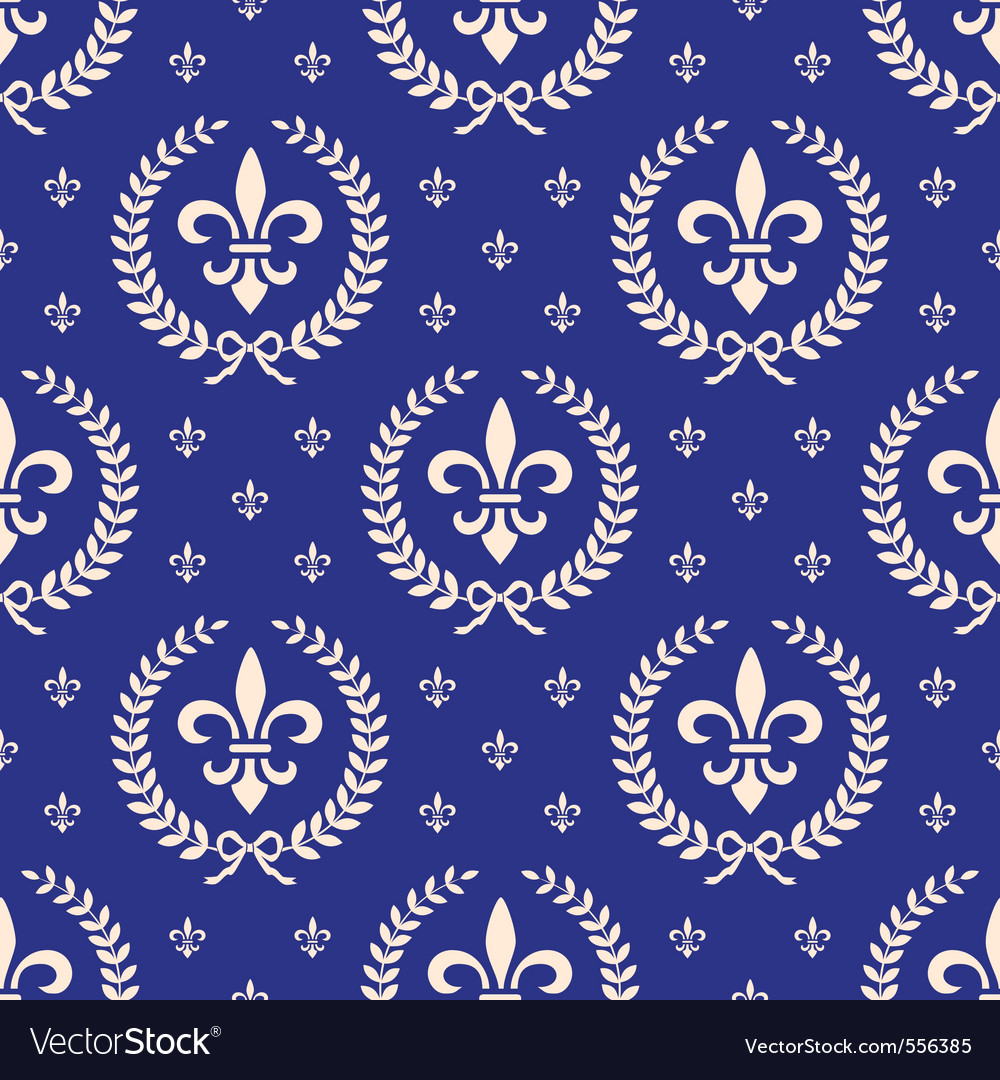 Royal seamless vector