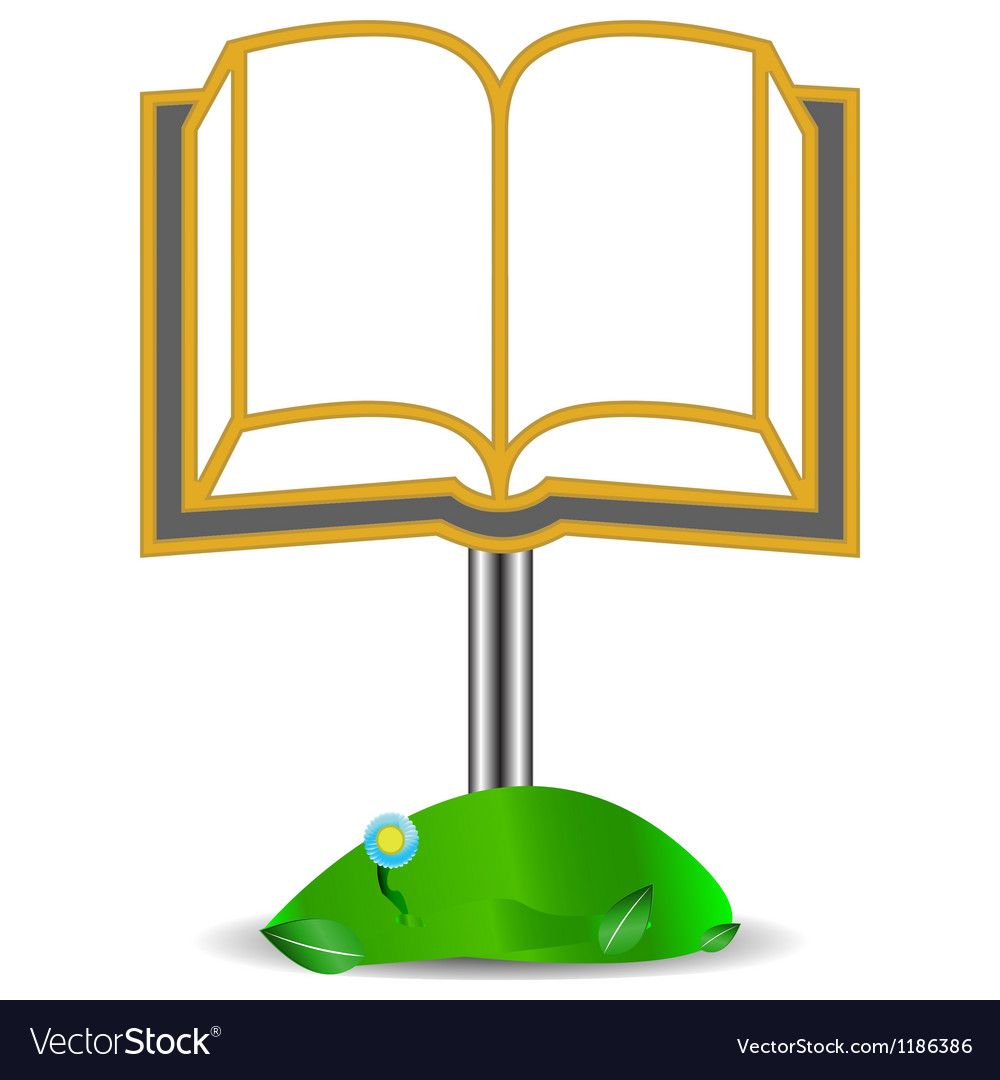Ancient book vector