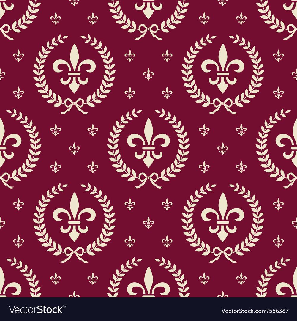 Royal seamless vector
