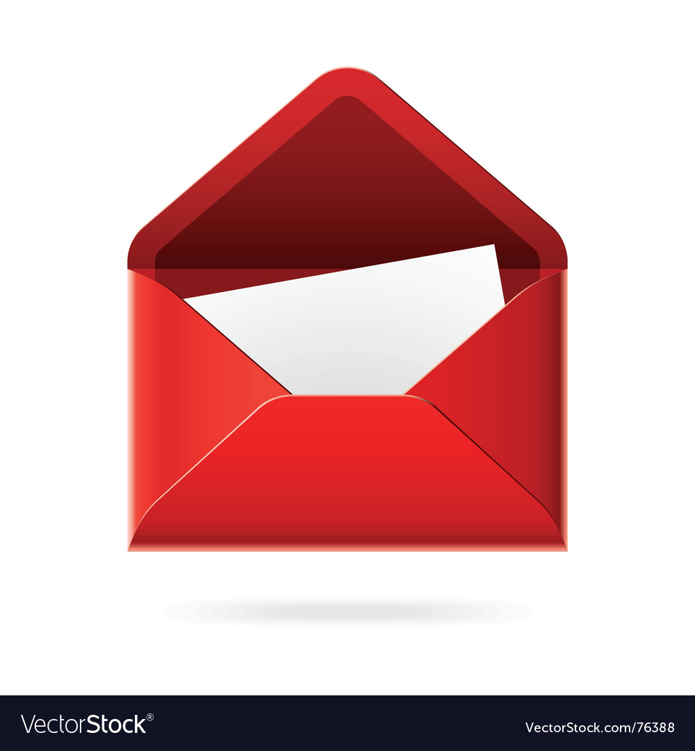 Youve got mail icon vector