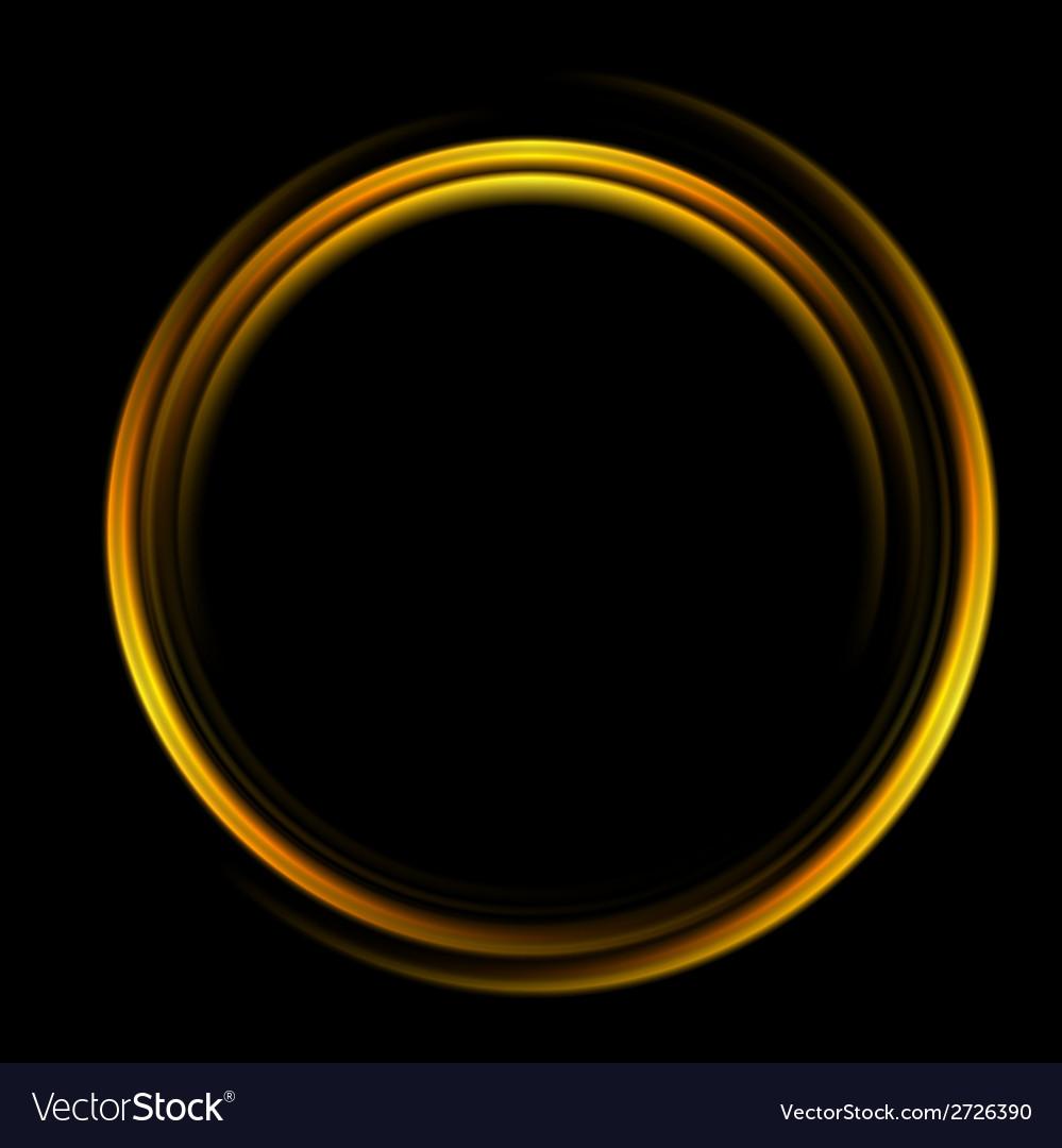 Bright abstract circle logo background vector