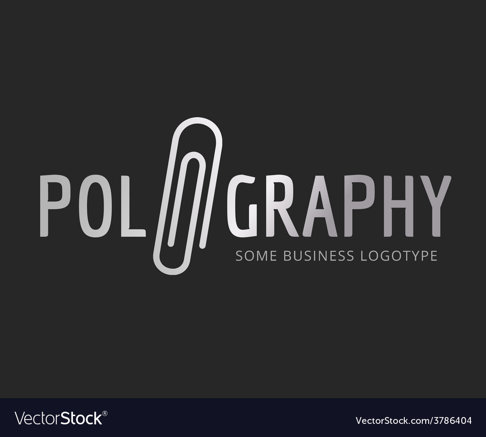 Abstract office logo template for branding vector
