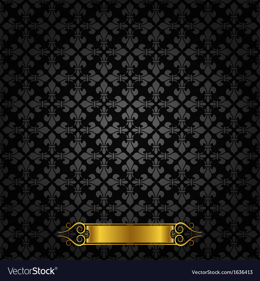 Royal pattern vector