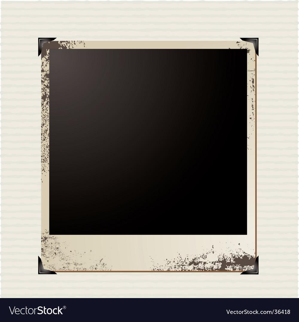 Picture corner vector