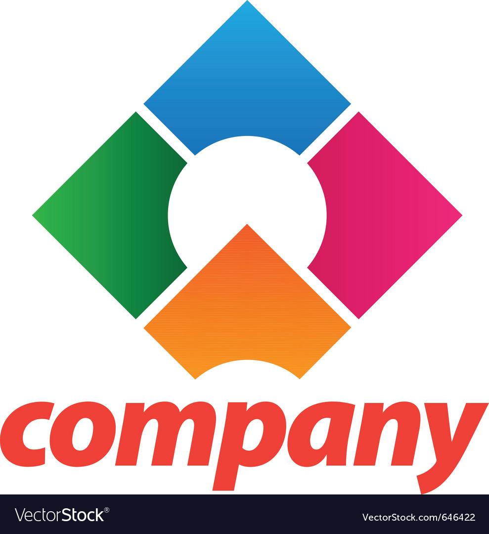 Beautiful corporate logo vector