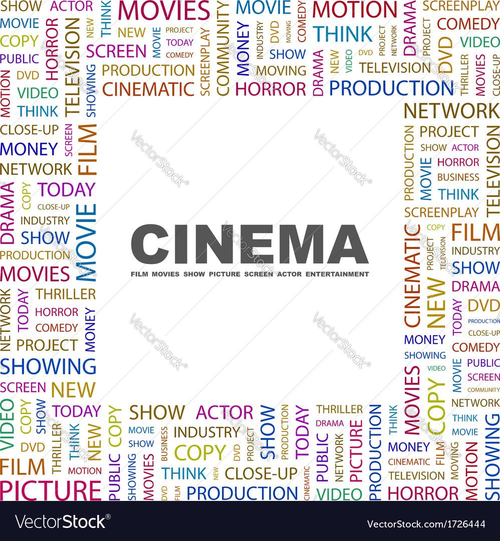 Cinema vector