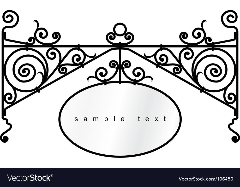 Border frame vector
