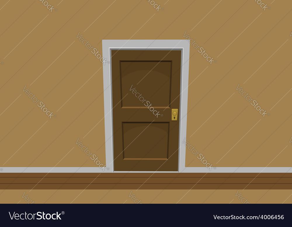 Room door vector