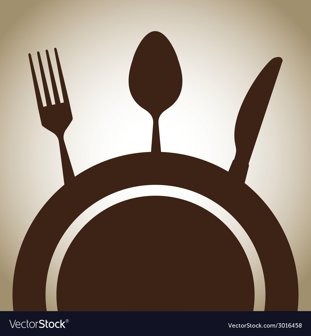 Cutlery design vector