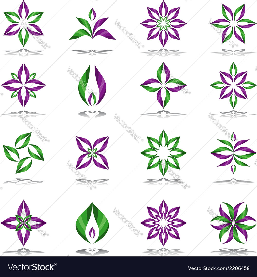 Design elements set vector