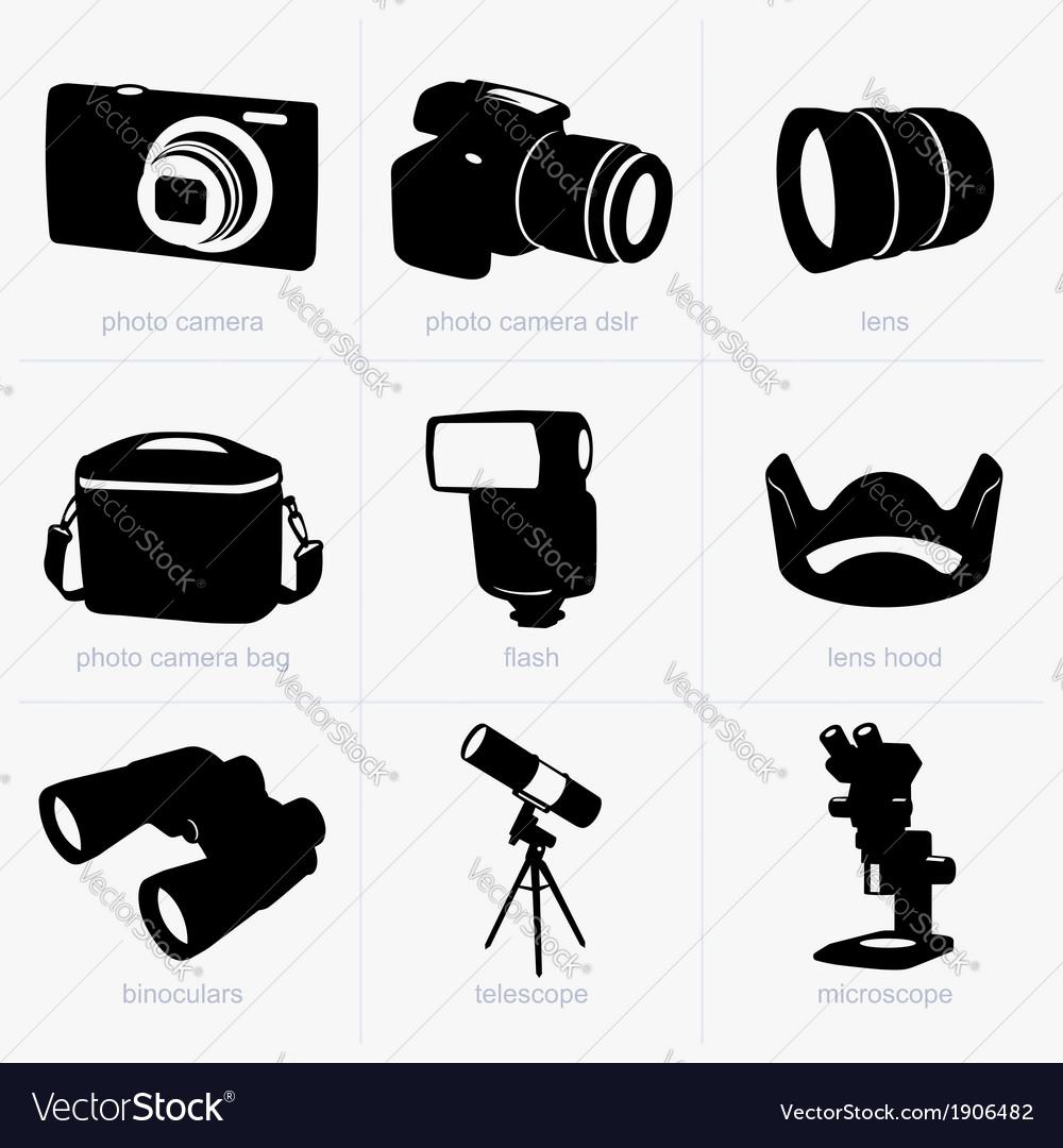 Optical equipment vector