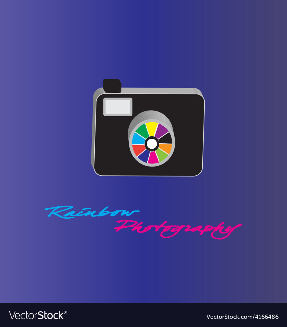 Camera photography vector