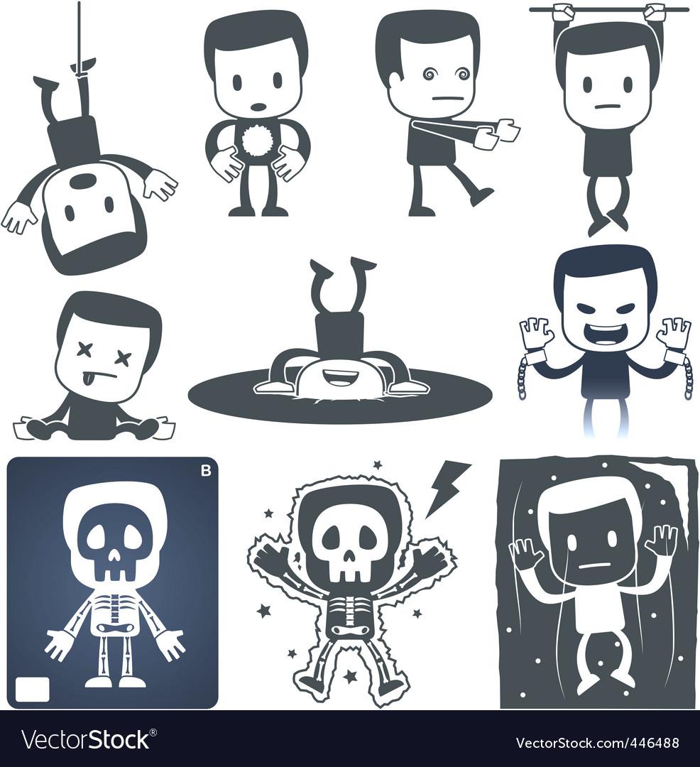 Icon man vector