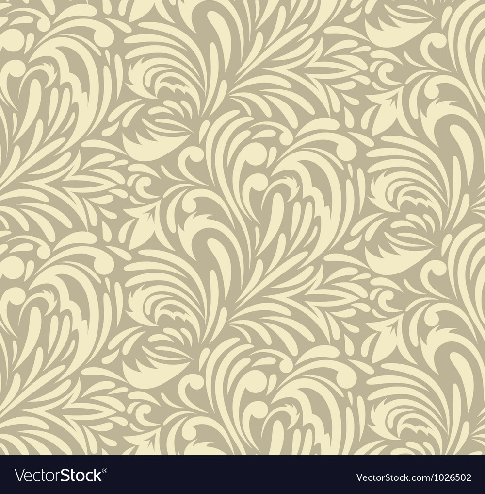 Seamless swirl pattern vector