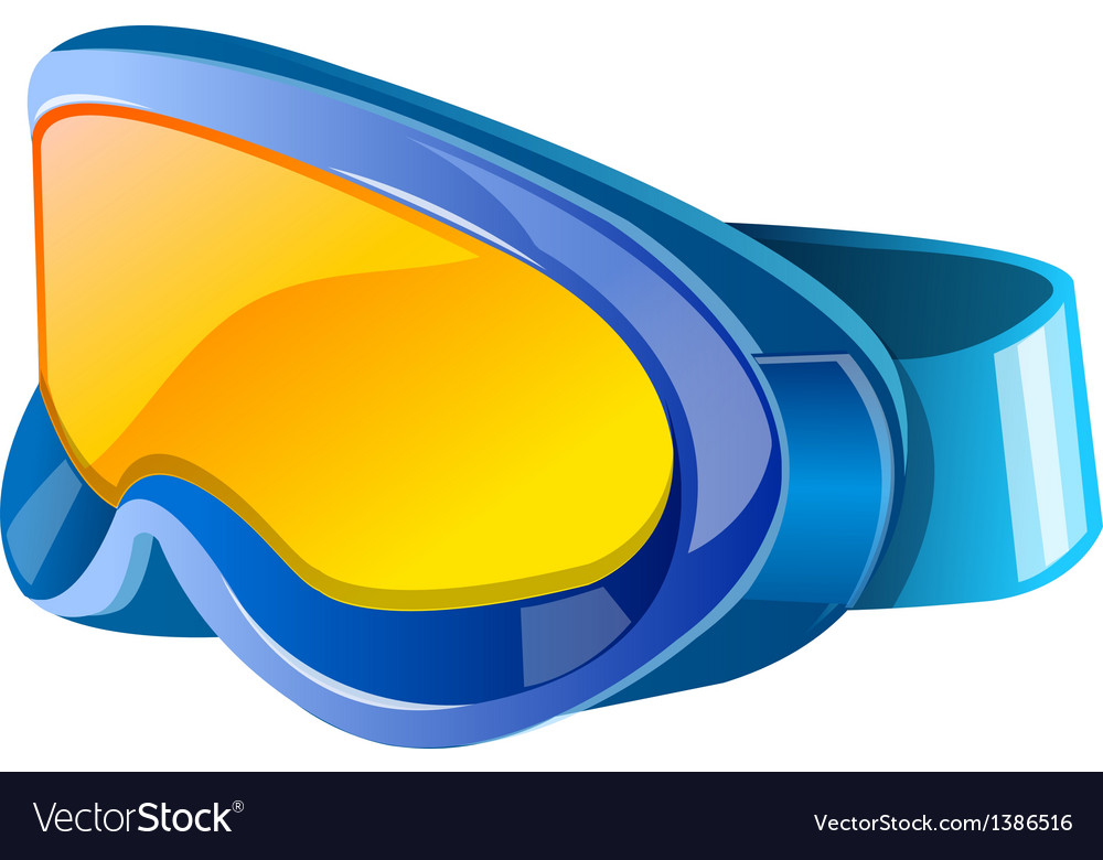 Icon goggles vector
