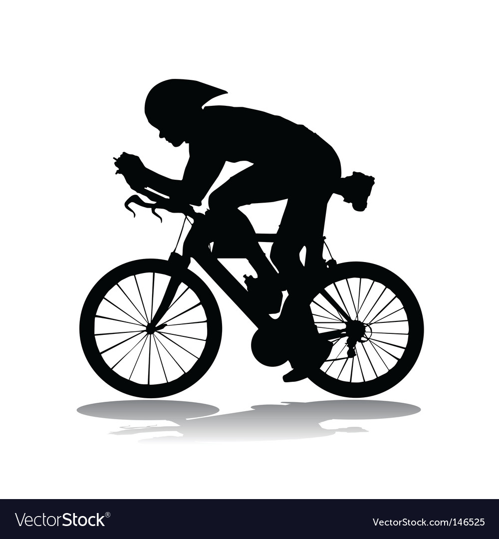 Bicycle race vector