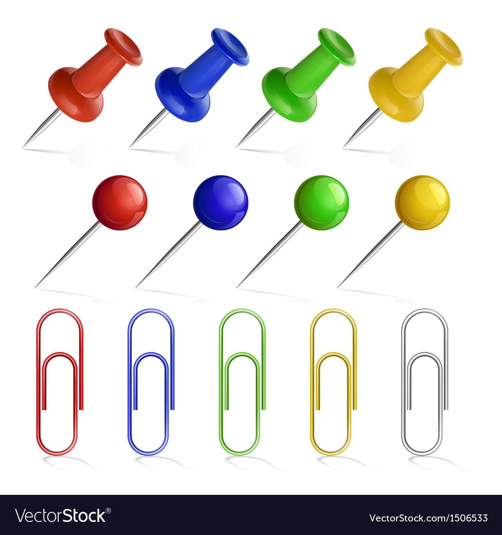 Pin set vector