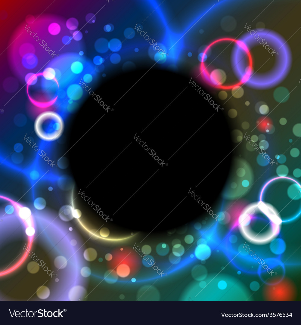 Abstract black hole vector