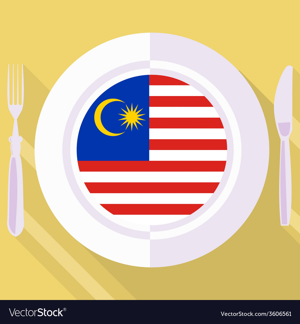 Kitchen of malaysia vector