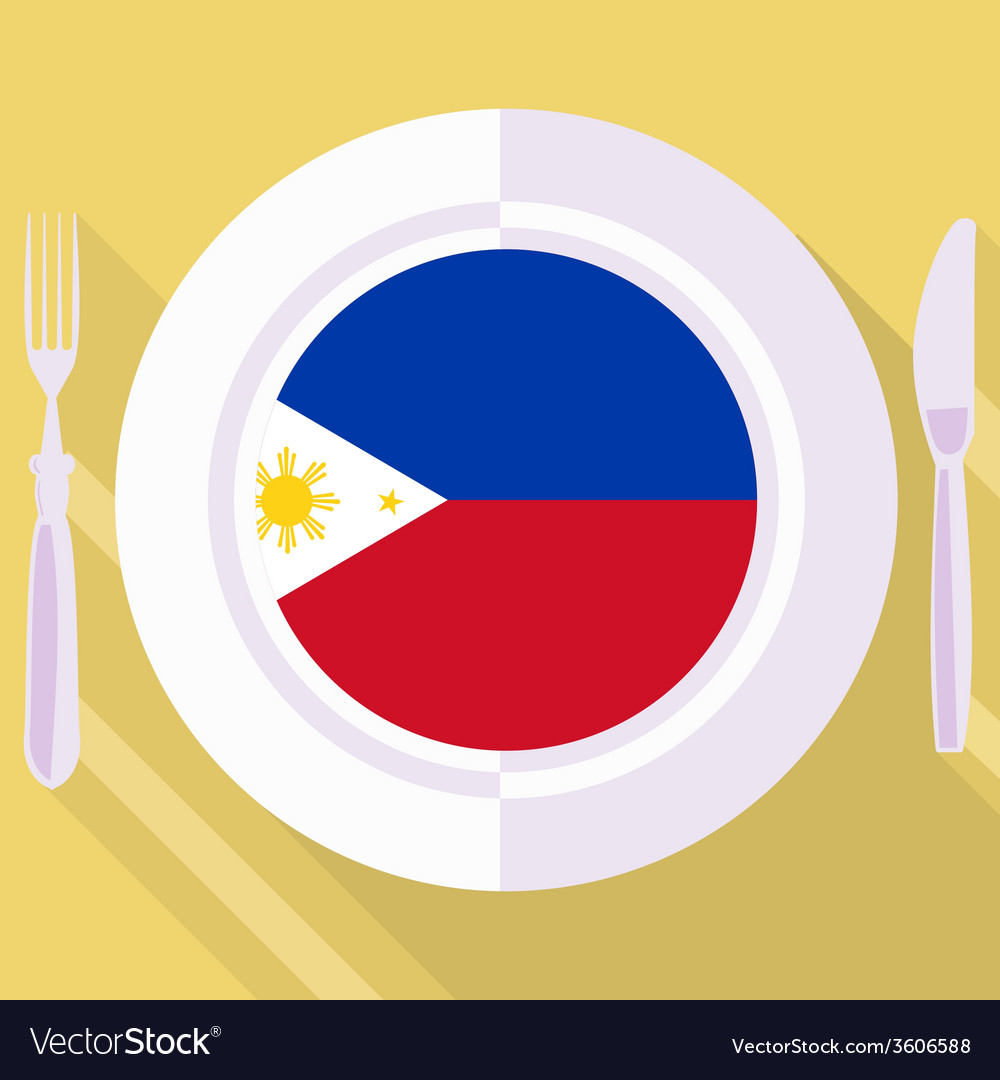 Kitchen of philippines vector