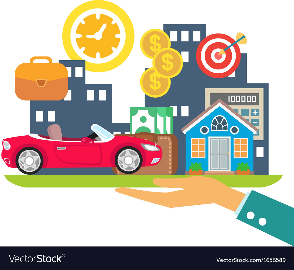 Credit leasing mortgage vector