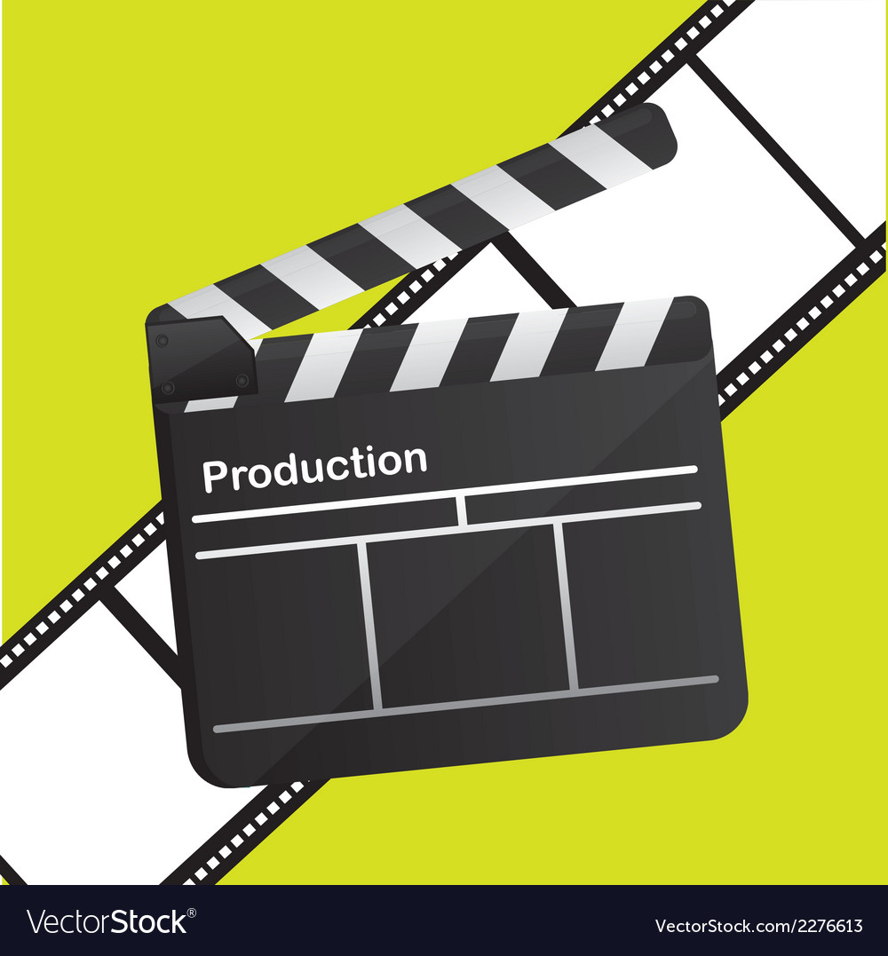 Film production design vector