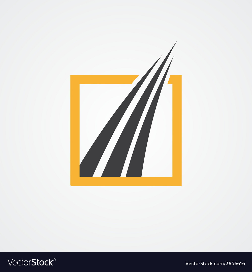 Logo for financial and accounting companies vector