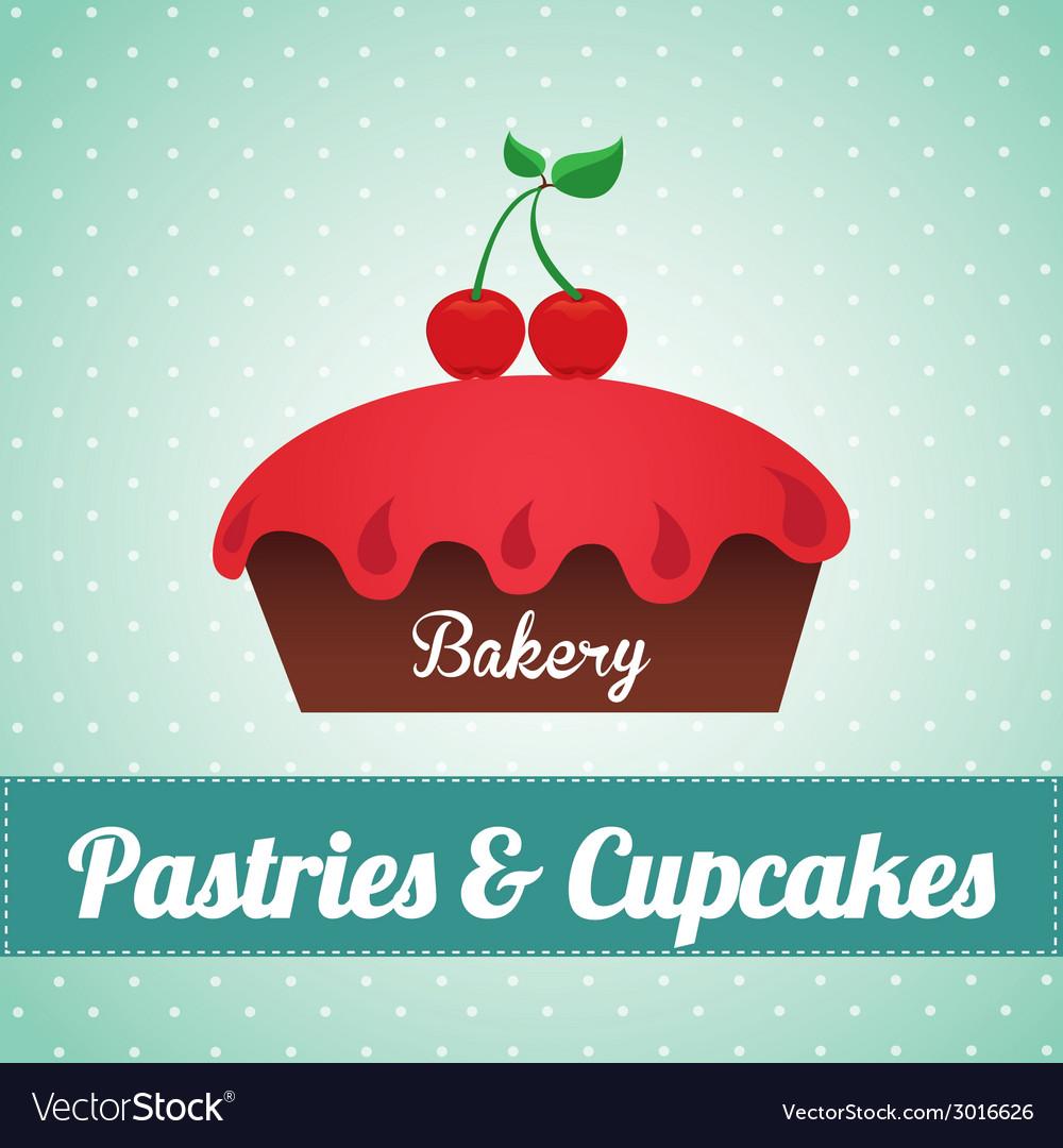 Bakery design vector