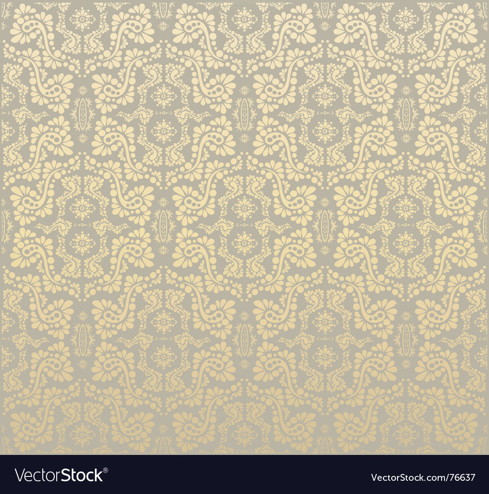 Floral ornament background vector