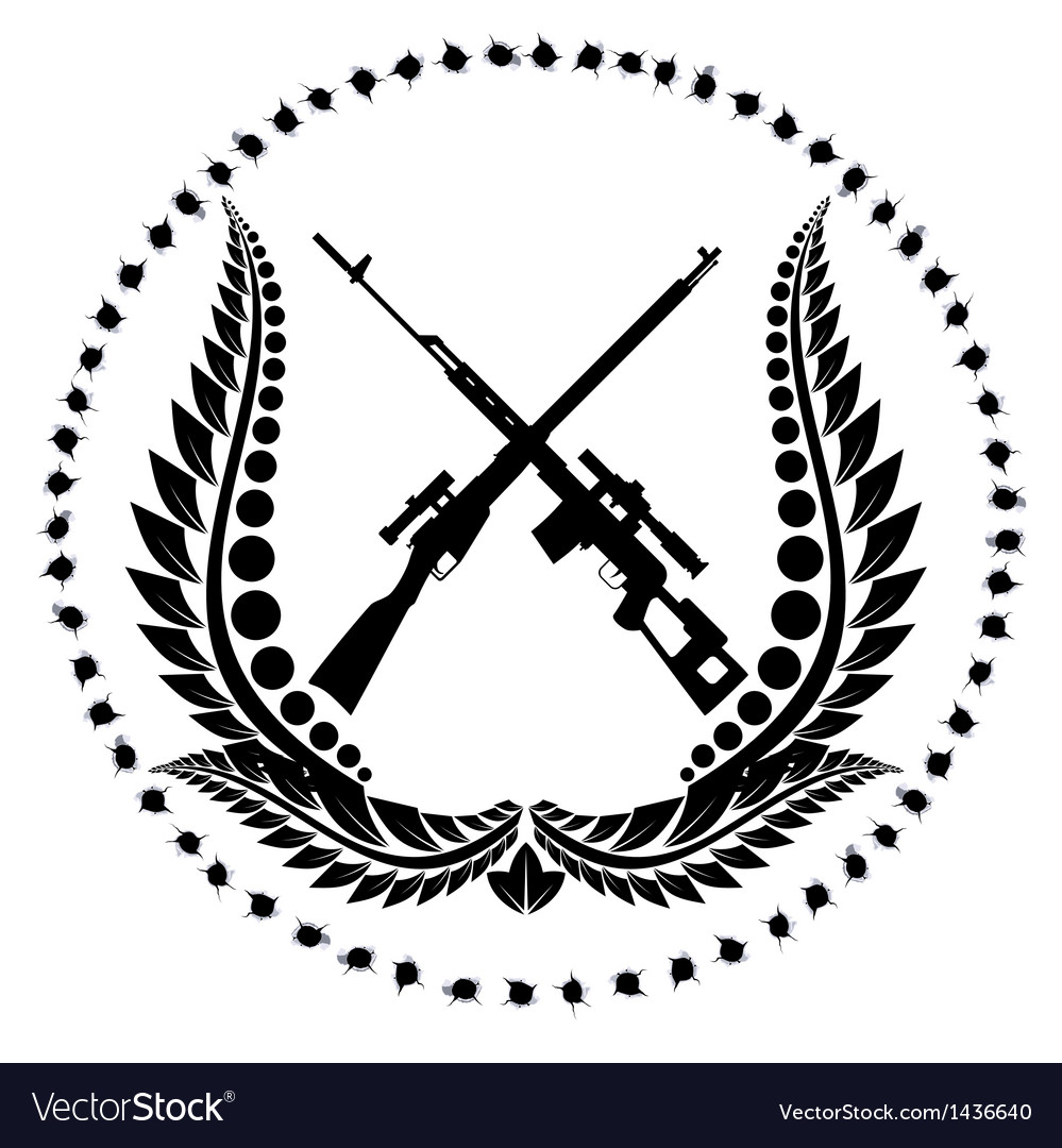 Sniper rifles-1 vector