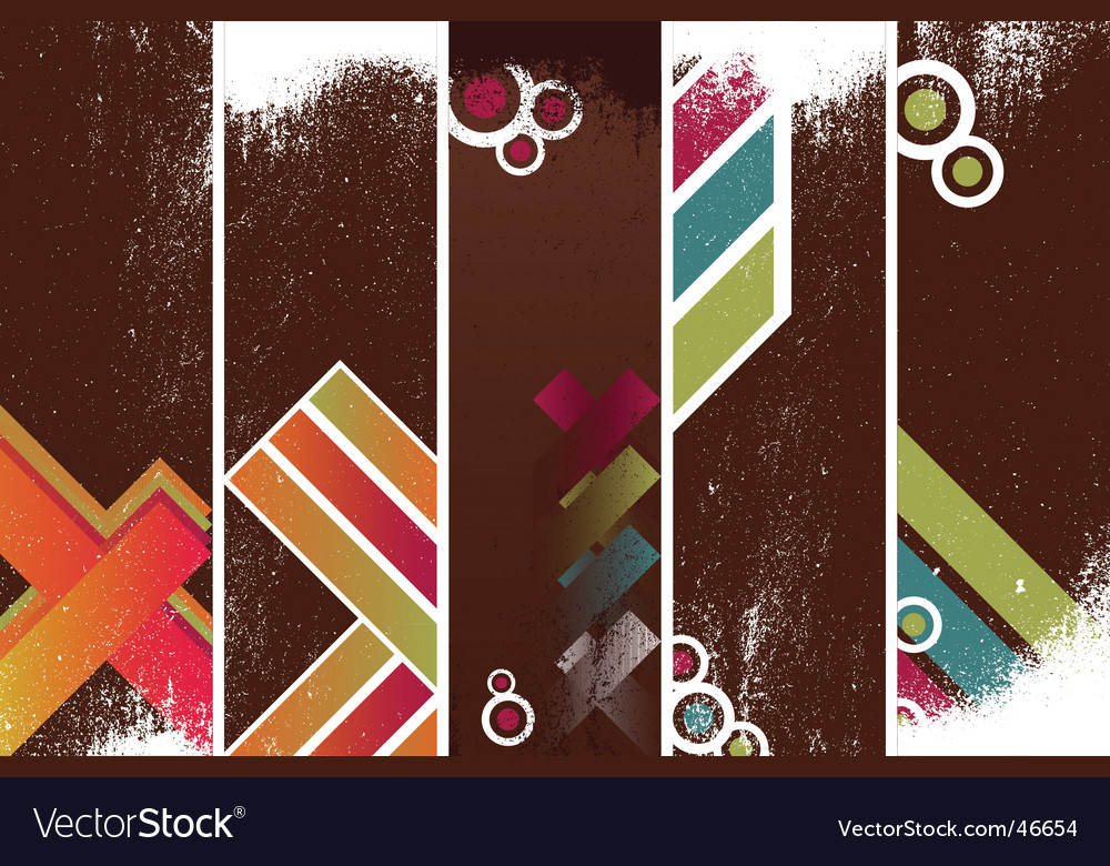 Grunge banners template vector