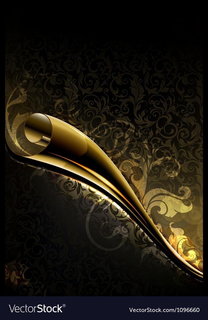 Luxury wallpaper backdrop vector