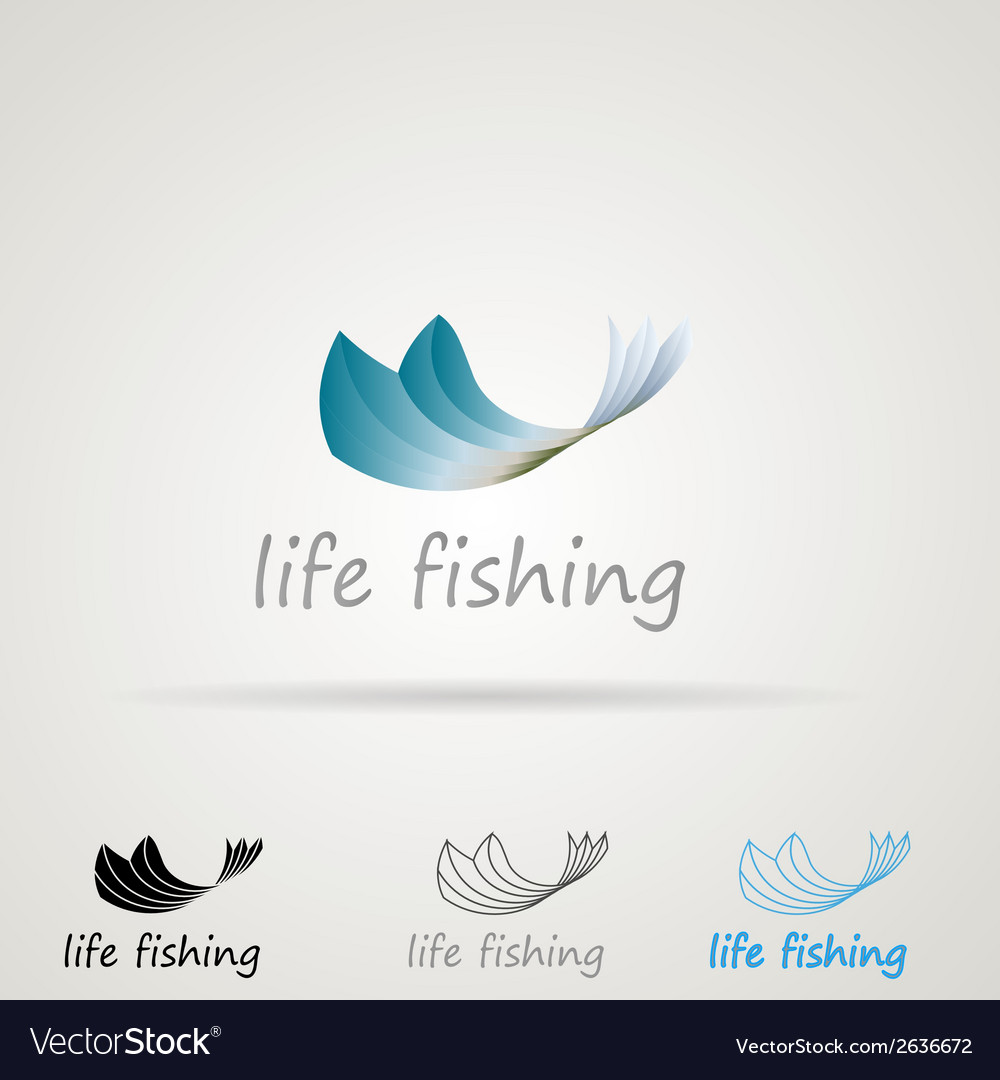 Abstract for fishing vector