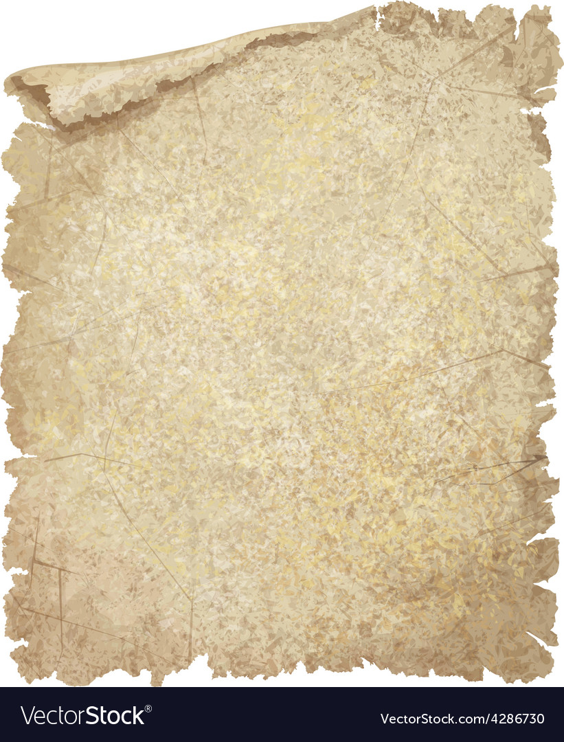 Old paper textured vector