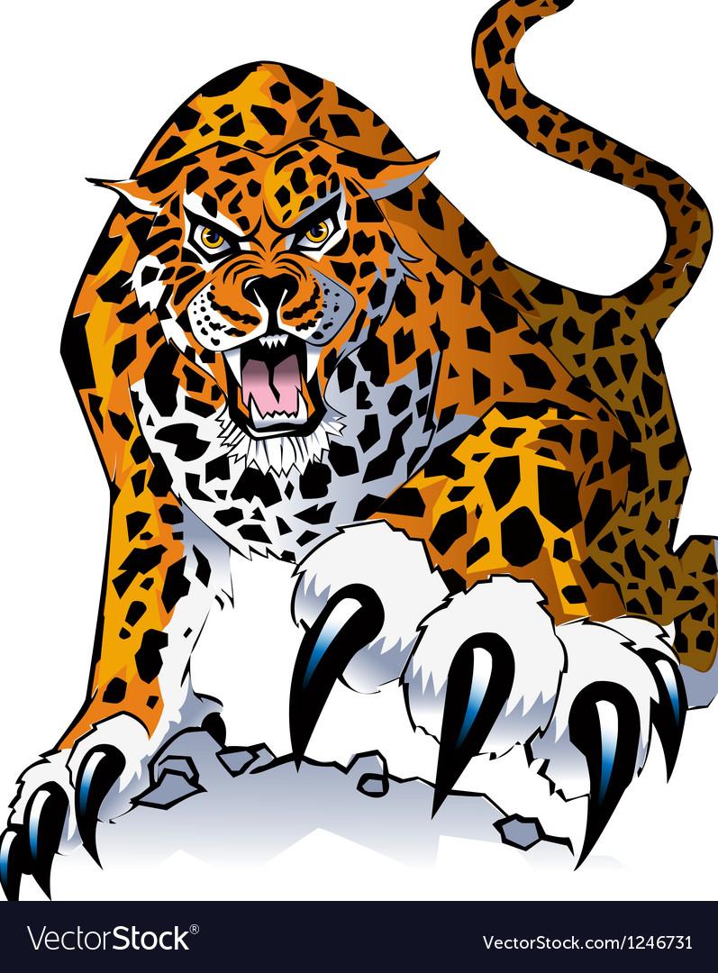 Jaguar thumb vector
