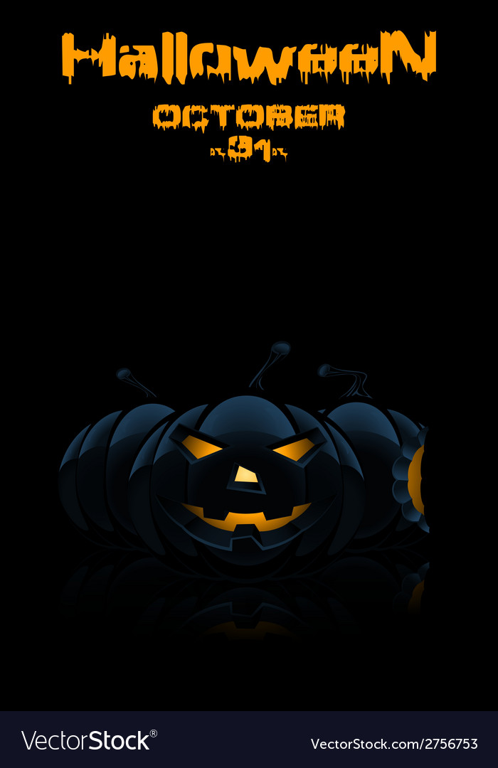 Background for halloween party vector