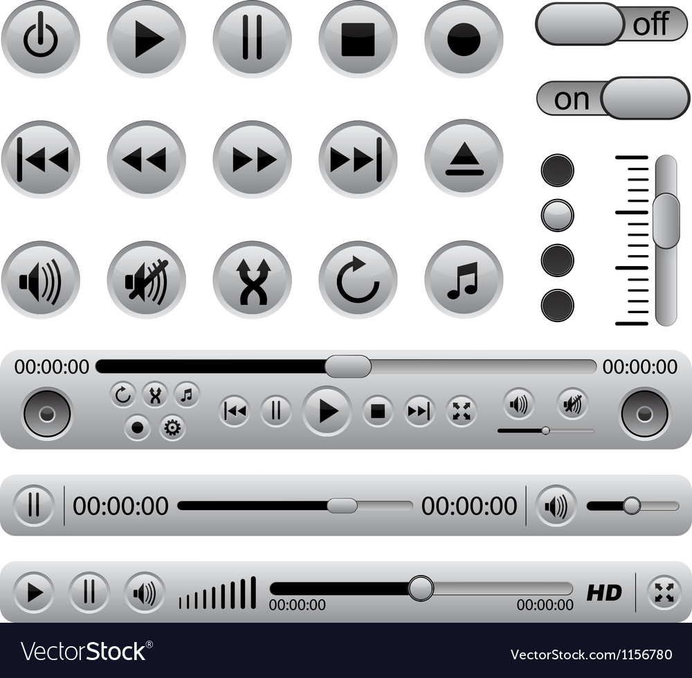 Media players vector
