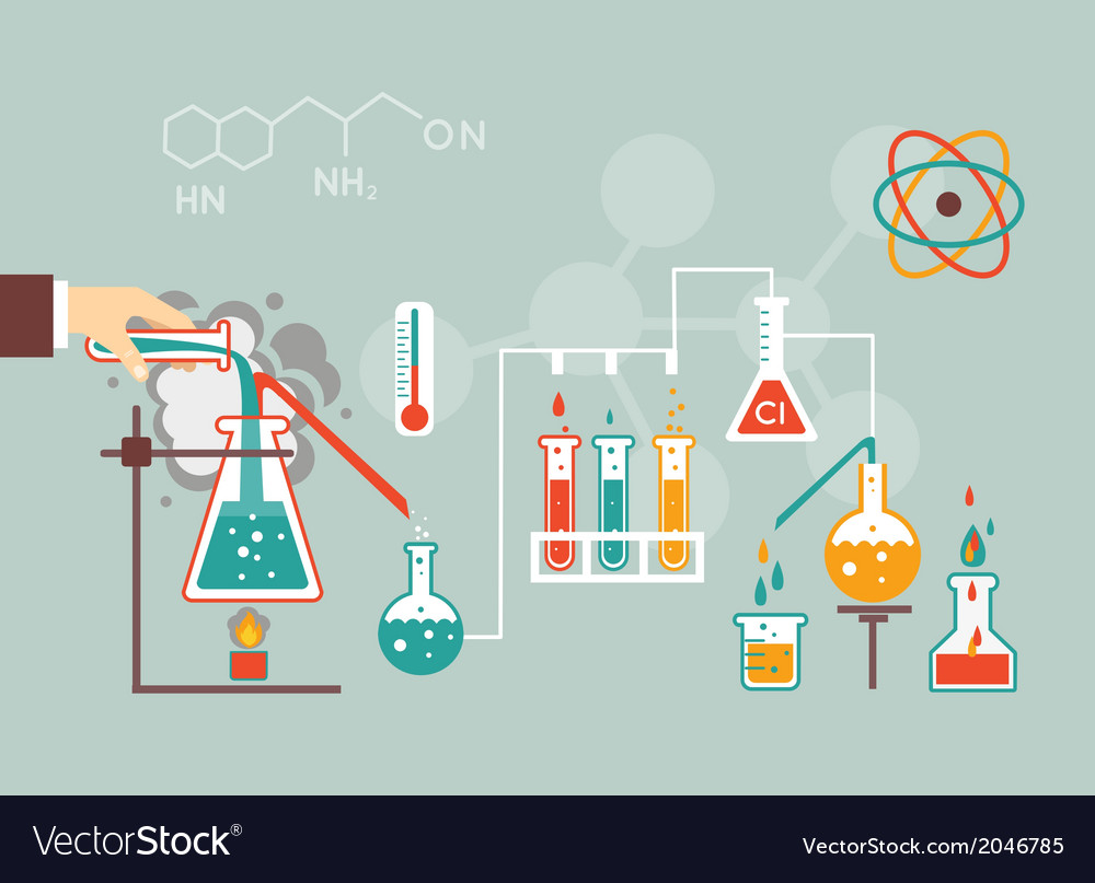 Chemistry demographic vector