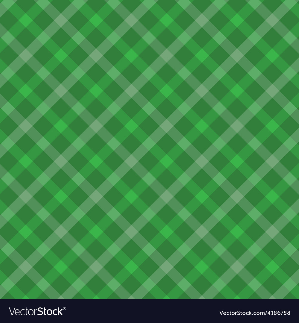 Green irish abstract textile seamless background vector