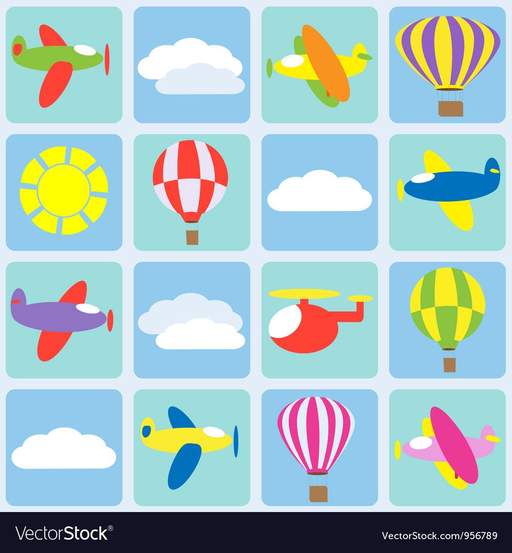 Air transportation vector