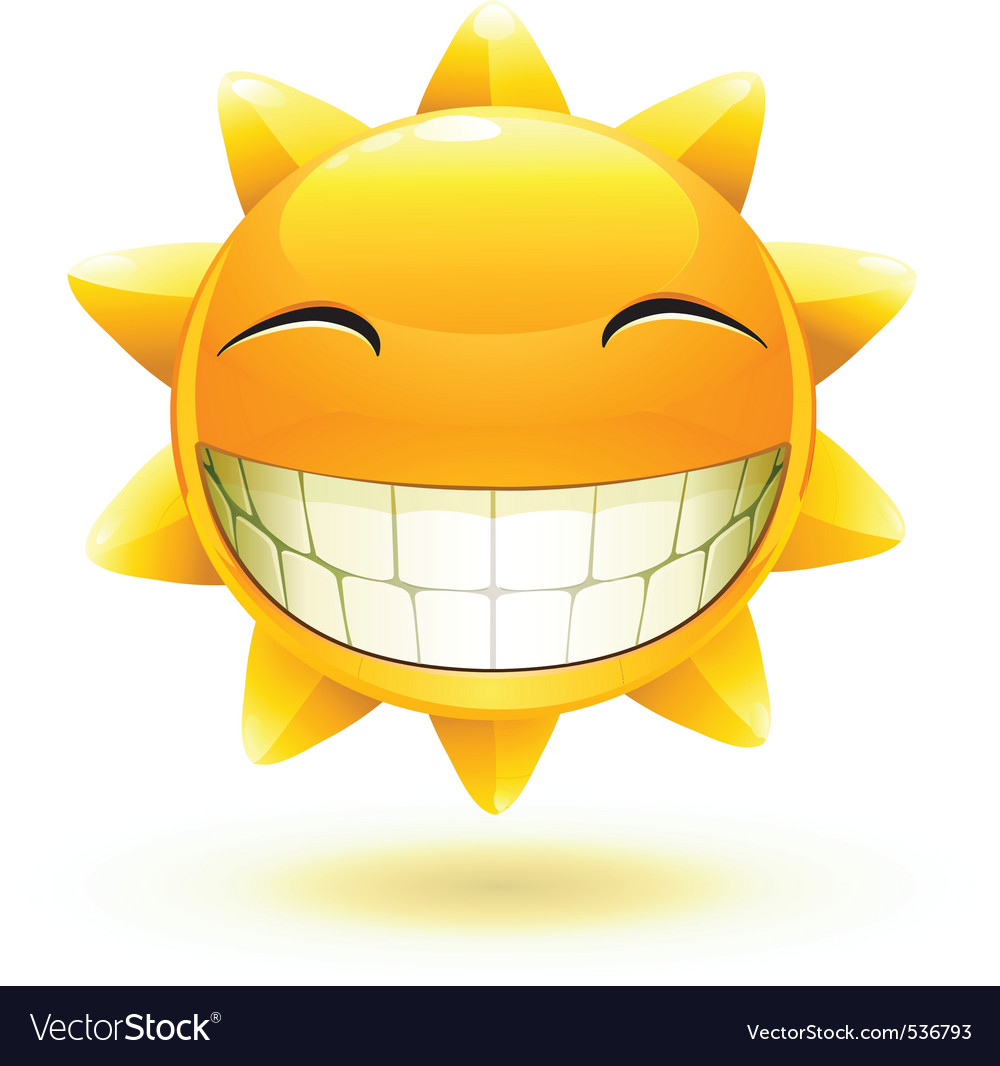 illustration of cool cartoon happy summer s vector