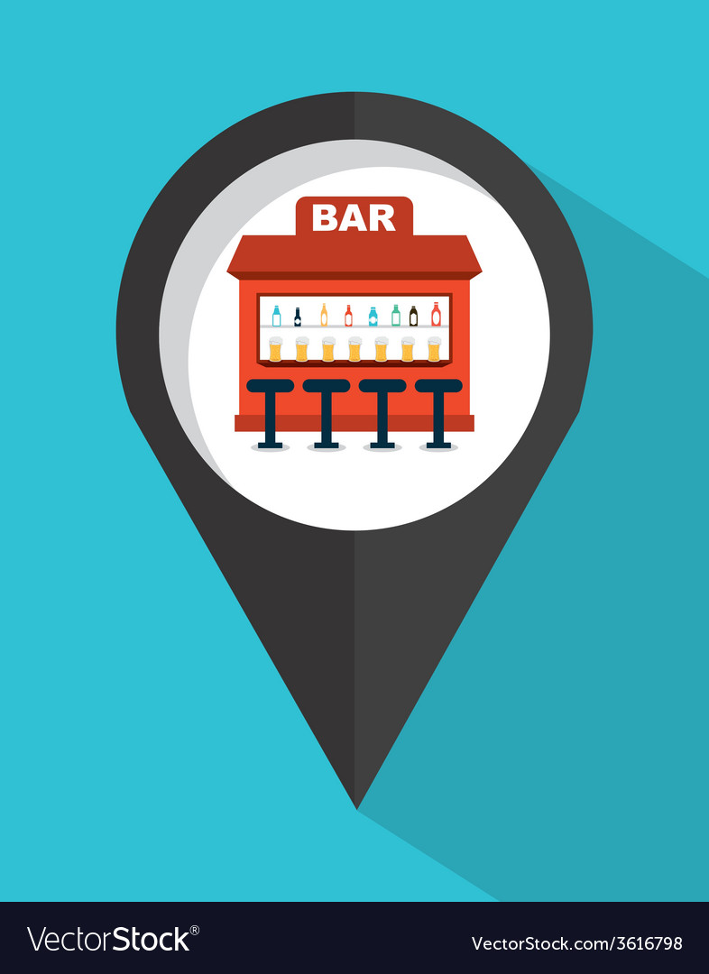 Bar sign vector