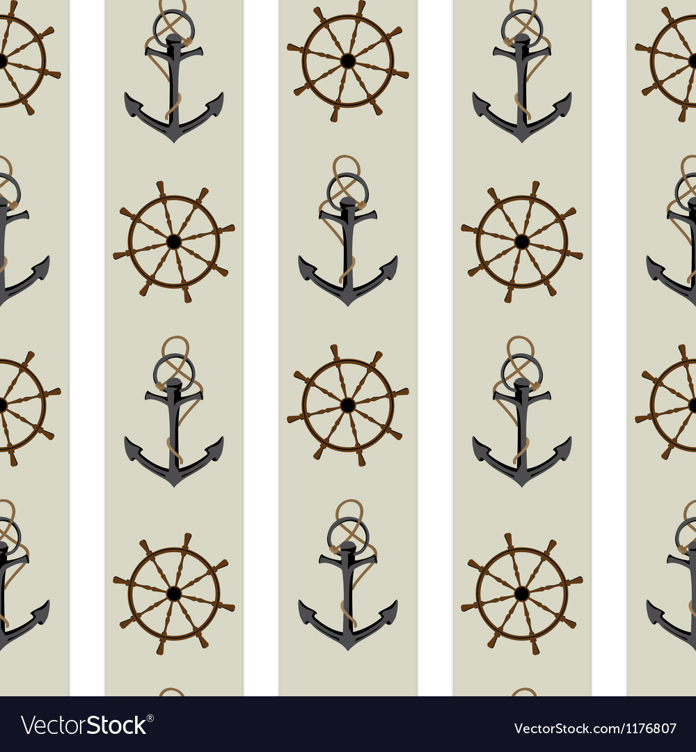 Navy pattern vector