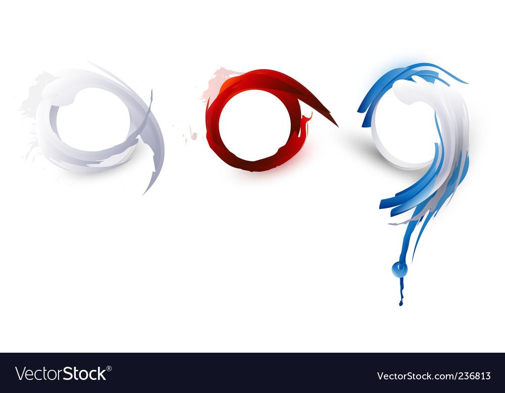 Abstract logos vector