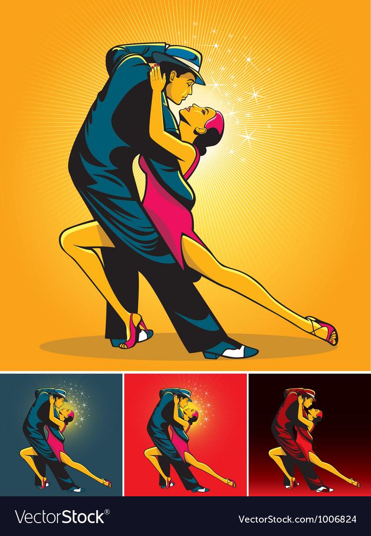 Tango colors vector