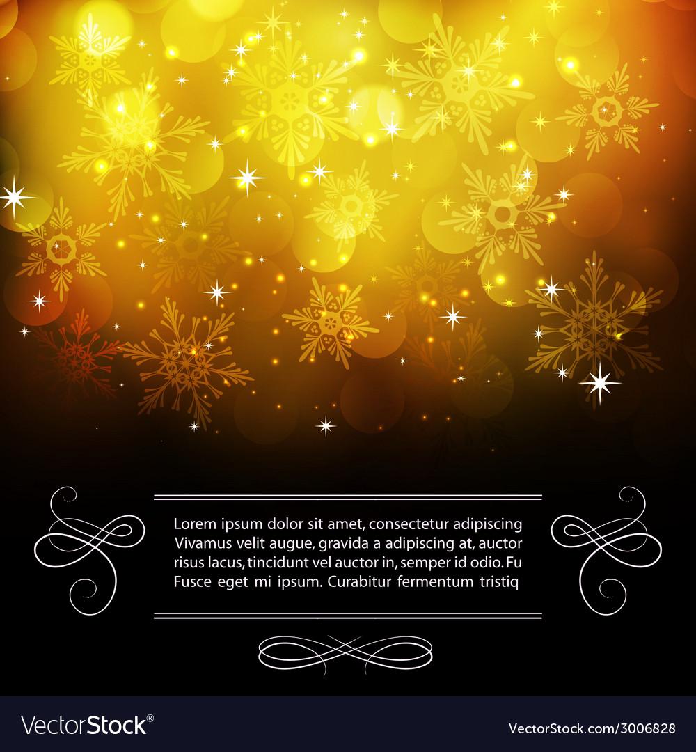Christmas snowflkes background vector