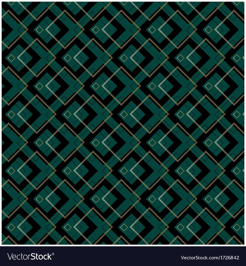 Art deco patterns vector