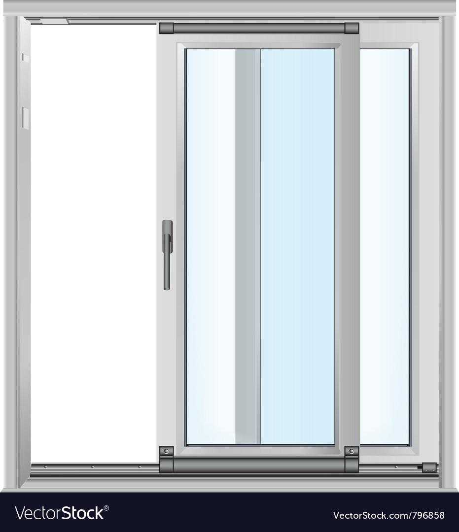 Door - realistic vector
