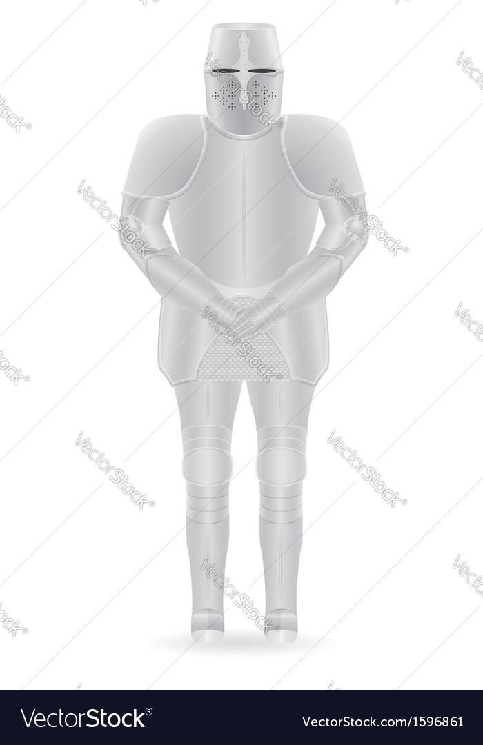 Knight armor 01 vector