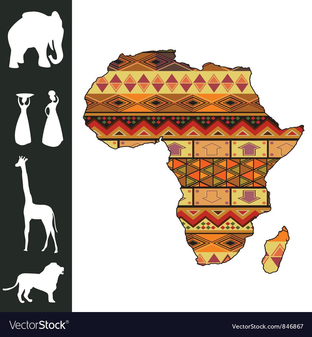 Africa design vector